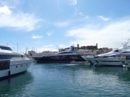 Bateaux à Cannes