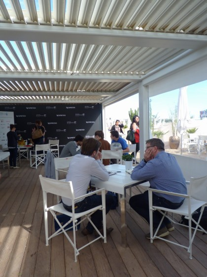 Interview Ecran Total au Festival de Cannes