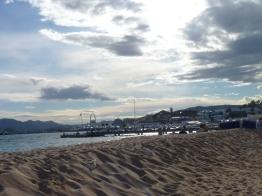Vu de la Plage Nespresso à Cannes