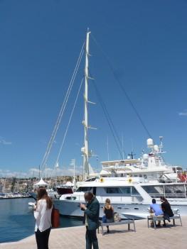 Bateau au Festival de Cannes