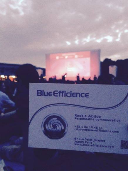 Blue Efficience au Cinéma en Plein Air de La Villette 2015